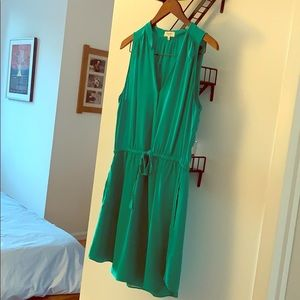 Babaton Emerald Dress - 100% silk